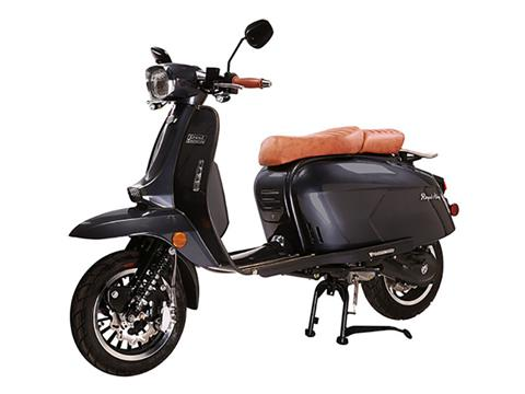 2021 Genuine Scooters Grand Tourer 150 in Indianapolis, Indiana