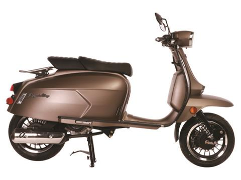 2021 Genuine Scooters Grand Tourer 150 in Lafayette, Indiana - Photo 3