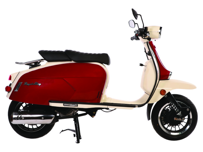 2021 Genuine Scooters Grand Tourer 150 in Tifton, Georgia - Photo 3