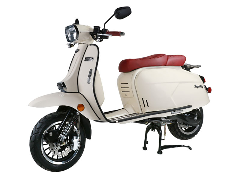 2021 Genuine Scooters Grand Tourer 150 in Santa Maria, California - Photo 1