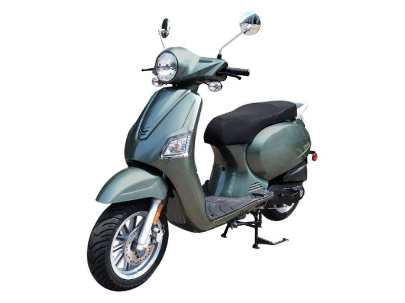 2021 Genuine Scooters Urbano 50i in Downers Grove, Illinois
