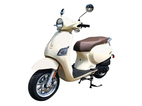 2021 Genuine Scooters Urbano 50i in Santa Maria, California