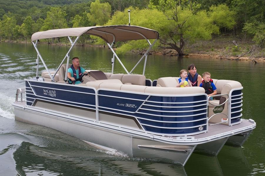 2019 SunCatcher Elite 322 C in Lake Mills, Iowa - Photo 1