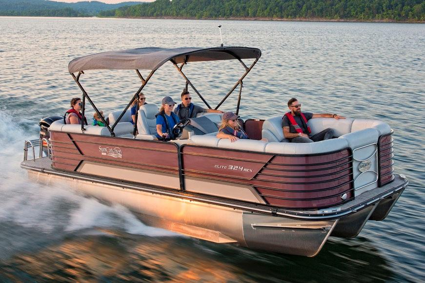 2019 SunCatcher Elite 324 RCX in Lake Mills, Iowa - Photo 1
