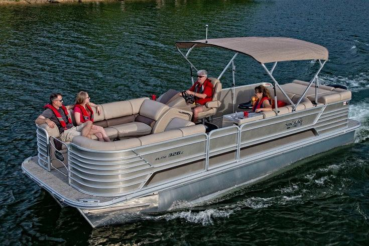 2019 SunCatcher Elite 326 C in Lake Mills, Iowa - Photo 1