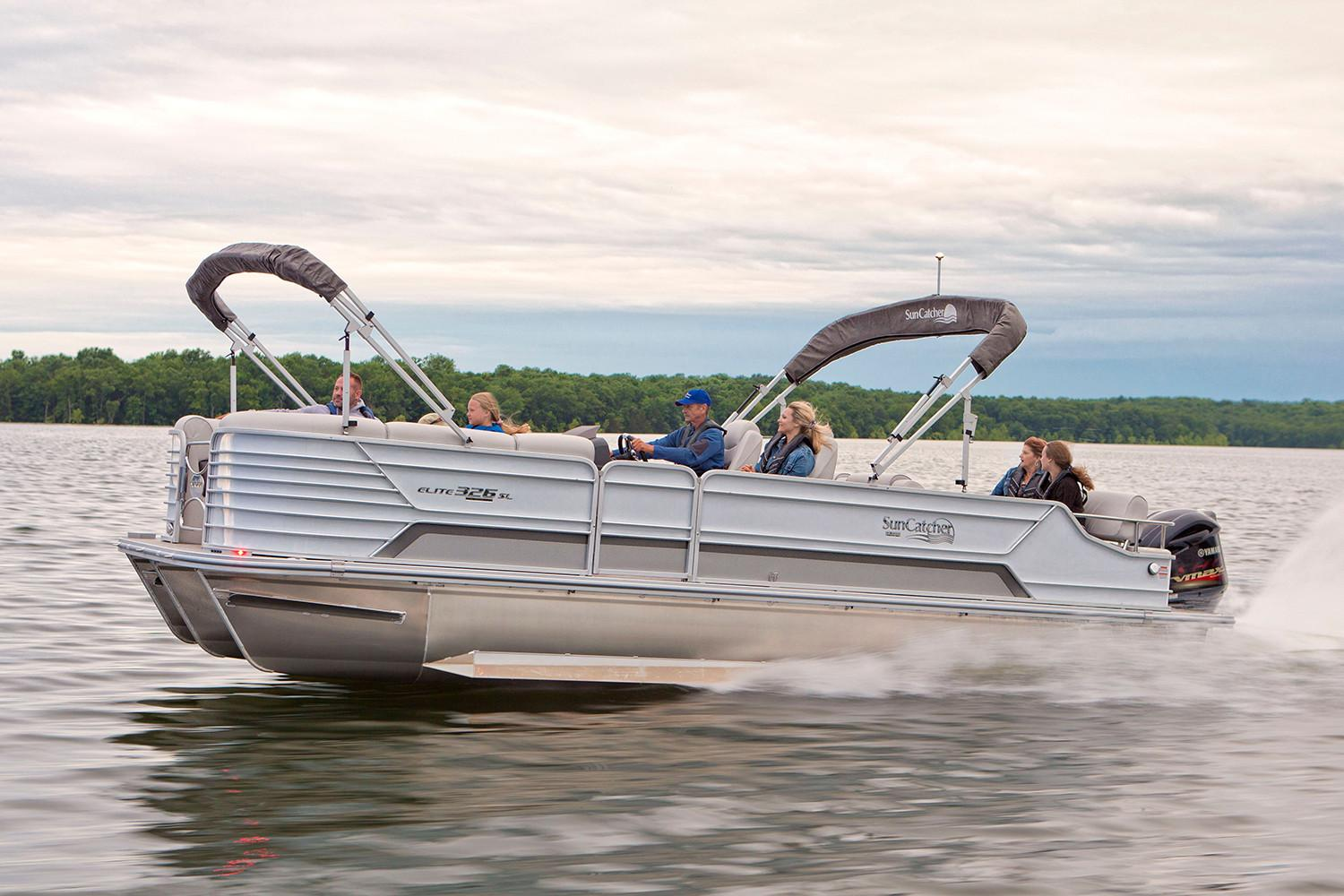 2020 SunCatcher Elite 326 SL in Lake Mills, Iowa - Photo 1