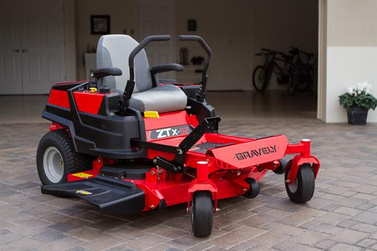 New 2015 Gravely Usa Zt X 52 Lawn Mowers Riding In