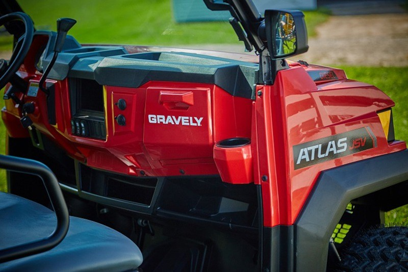 2018 Gravely USA Atlas JSV 6000 EFI Gas Crew in Lafayette, Indiana