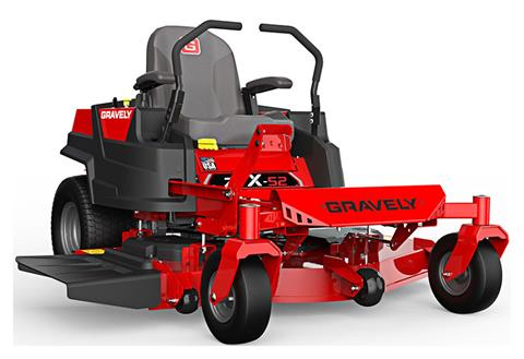 2019 Gravely USA ZT X 52 Kohler 25hp Zero Turn Mower in Jesup, Georgia