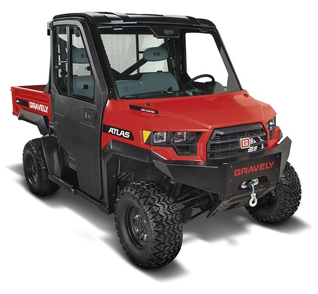 2019 Gravely USA Atlas JSV 3000 EFI Gas in Saucier, Mississippi