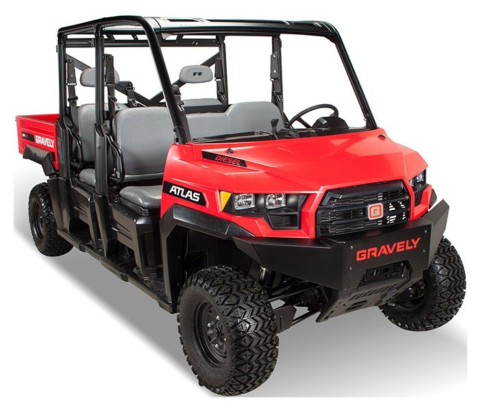 2019 Gravely USA Atlas JSV 6000 Diesel Crew in Lancaster, Texas