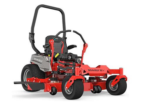 2020 Gravely USA Pro-Turn EV 60 in. SD 16 kWh Li-ion in Lafayette, Indiana
