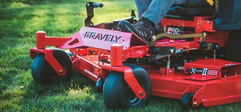2020 Gravely USA Pro-Turn 160 60 in. Kohler ZT740 25 hp in Glasgow, Kentucky - Photo 4