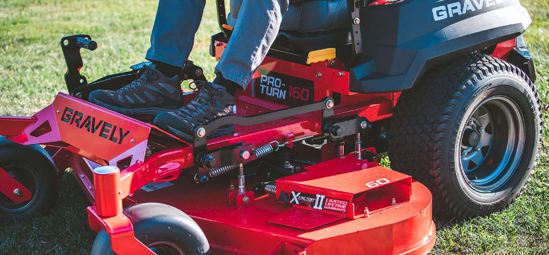 2021 Gravely USA Pro-Turn 160 60 in. Kohler ZT740 25 hp in Alamosa, Colorado - Photo 7