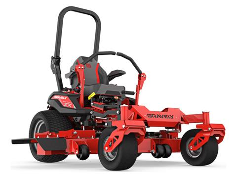 2021 Gravely USA Pro-Turn ZX 60 in. Kawasaki FX730V 23.5 hp in Kansas City, Kansas