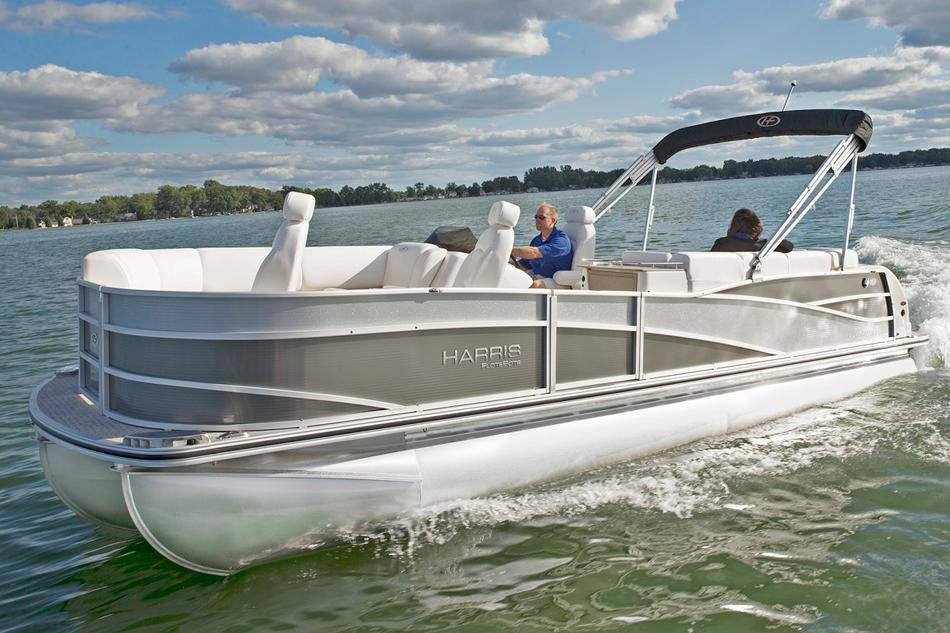 2014 Harris Flotebote Grand Mariner SEL 230 in Manitou Beach, Michigan