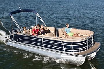 2014 Harris Flotebote Solstice 240 in Manitou Beach, Michigan