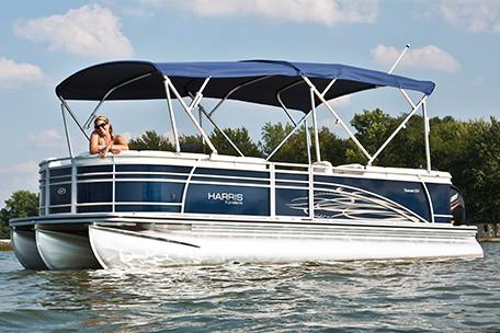 2014 Harris Flotebote Sunliner 200 in Manitou Beach, Michigan