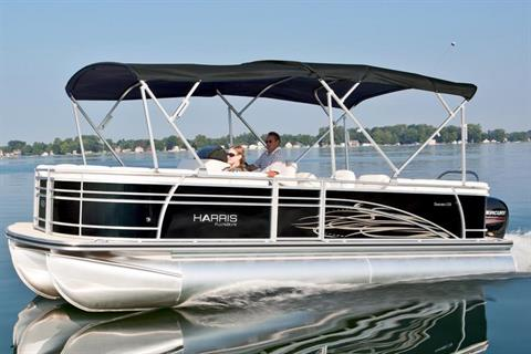 2014 Harris Flotebote Sunliner 220 in Manitou Beach, Michigan