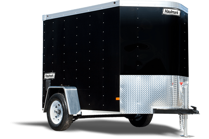 2017 Haulmark Transport V-Nose 5 ft. Wide (TSTV5X8DS2) in Adams, Massachusetts