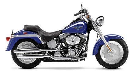 2002 Harley-Davidson FLSTF/FLSTFI Fat Boy® in Oakdale, New York