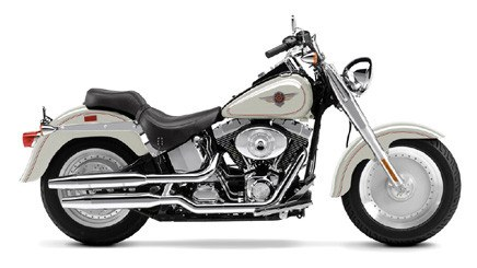 2002 Harley-Davidson FLSTF/FLSTFI Fat Boy® in New York Mills, New York