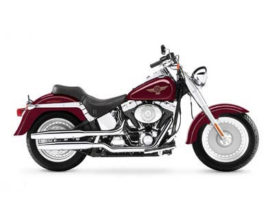 2005 Harley-Davidson FLSTF/FLSTFI Fat Boy® in Richmond, Indiana