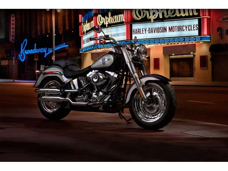 2012 Harley-Davidson Softail® Fat Boy® in Mentor, Ohio - Photo 2