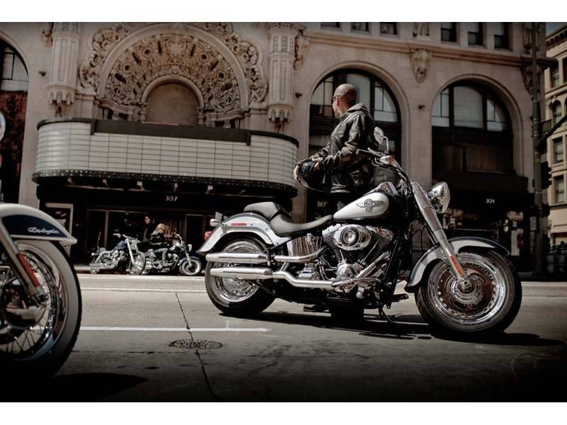 2012 Harley-Davidson Softail® Fat Boy® in Mentor, Ohio - Photo 4