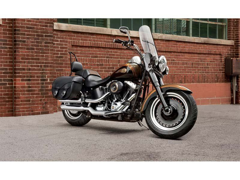 2013 Harley-Davidson Softail® Fat Boy® Lo 110th Anniversary Edition in Sunbury, Ohio