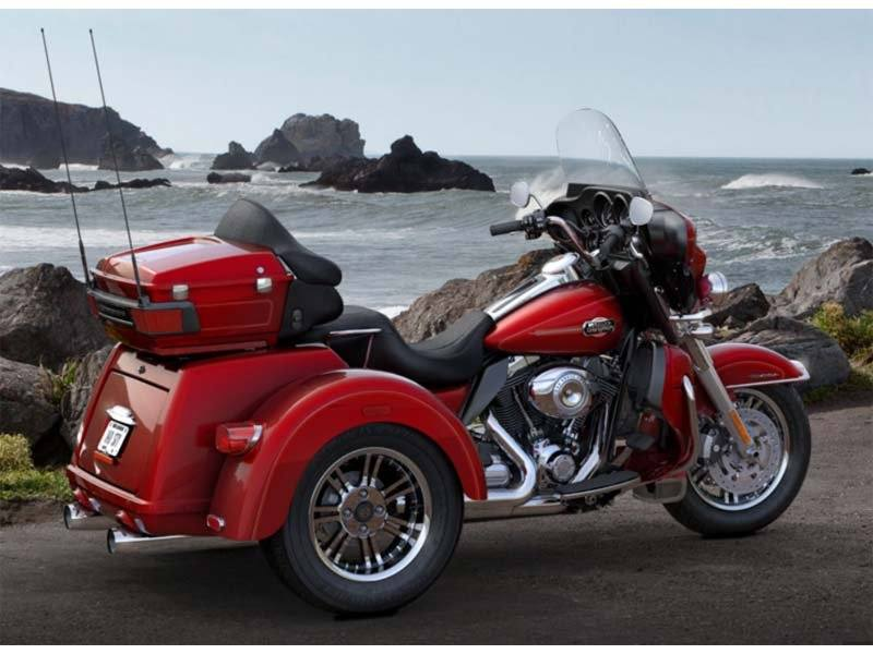 Used 2013 Harley Davidson Tri Glide Ultra Classic Trikes In Tulsa