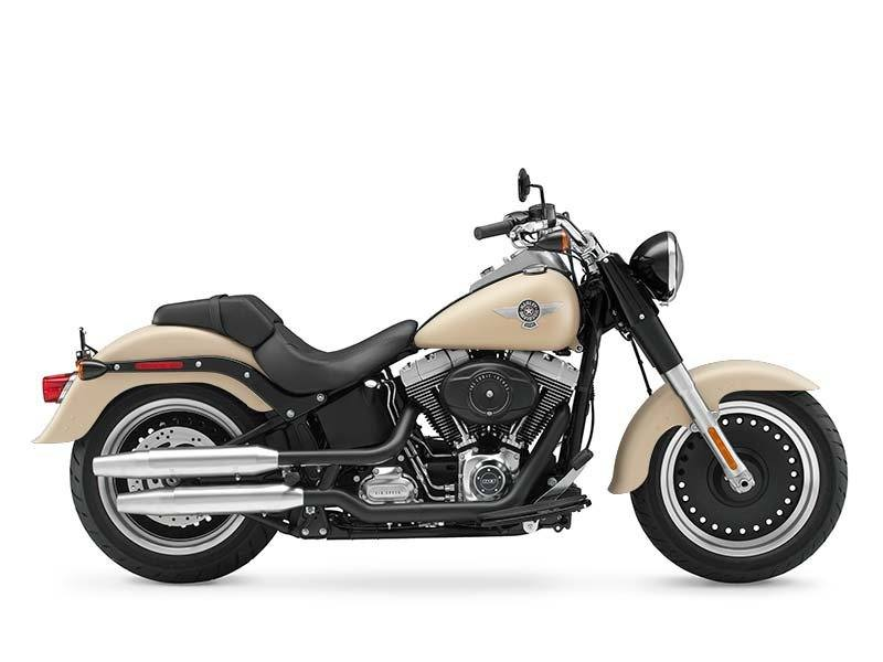 2014 Harley-Davidson Fat Boy® Lo Motorcycles Broadalbin New York FLSTFB