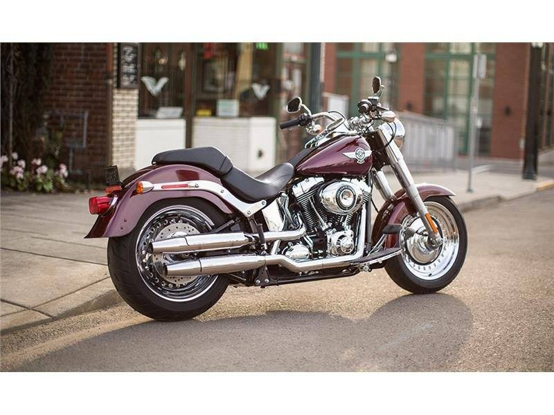2015 Harley-Davidson Fat Boy® in Traverse City, Michigan