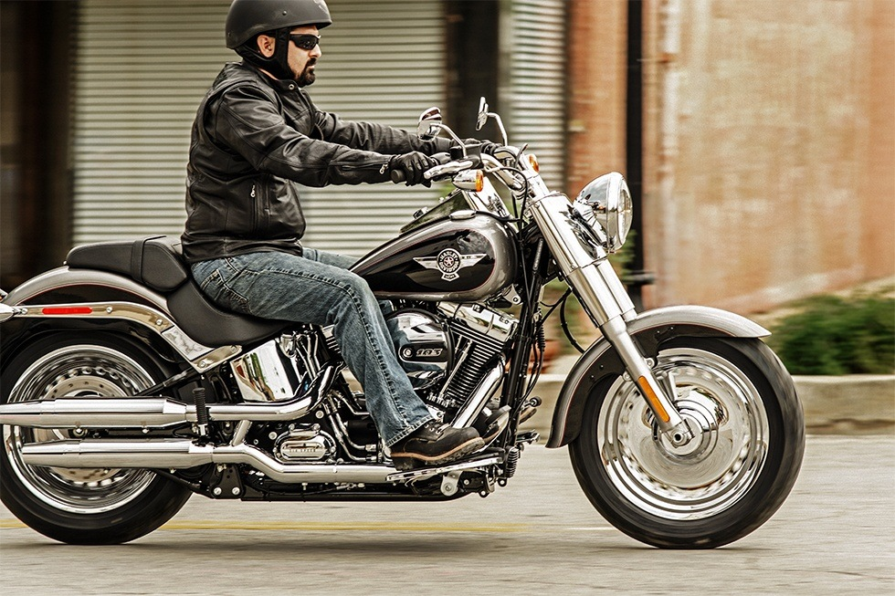 2016 Harley-Davidson Fat Boy® in New York Mills, New York
