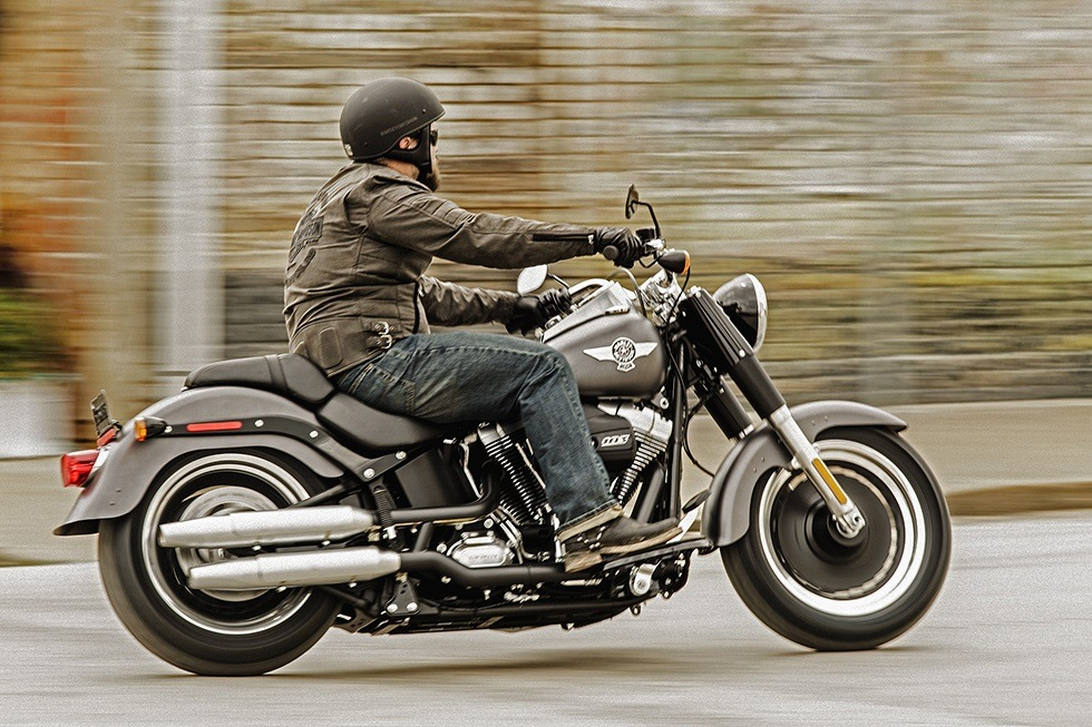 2016 Harley-Davidson Fat Boy® Lo in Waterford, Michigan