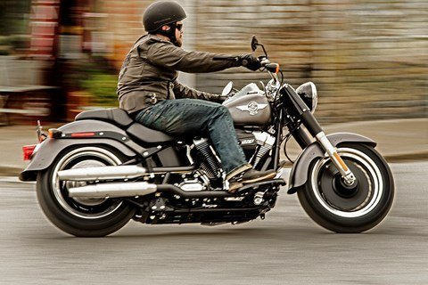 2016 Harley-Davidson Fat Boy® Lo in Richmond, Indiana