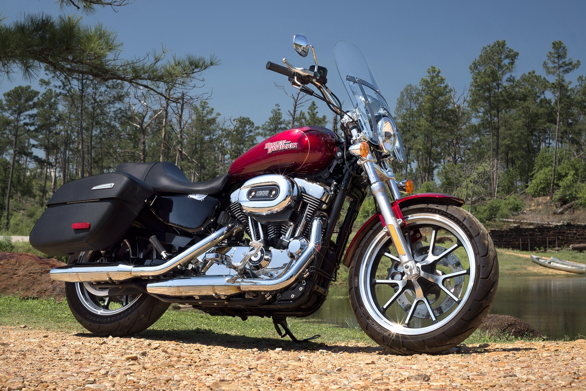 2016 Harley-Davidson SuperLow® 1200T in Junction City, Kansas