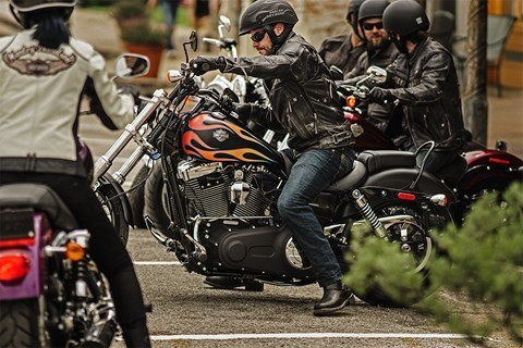 2016 Harley-Davidson Wide Glide® in Pittsfield, Massachusetts