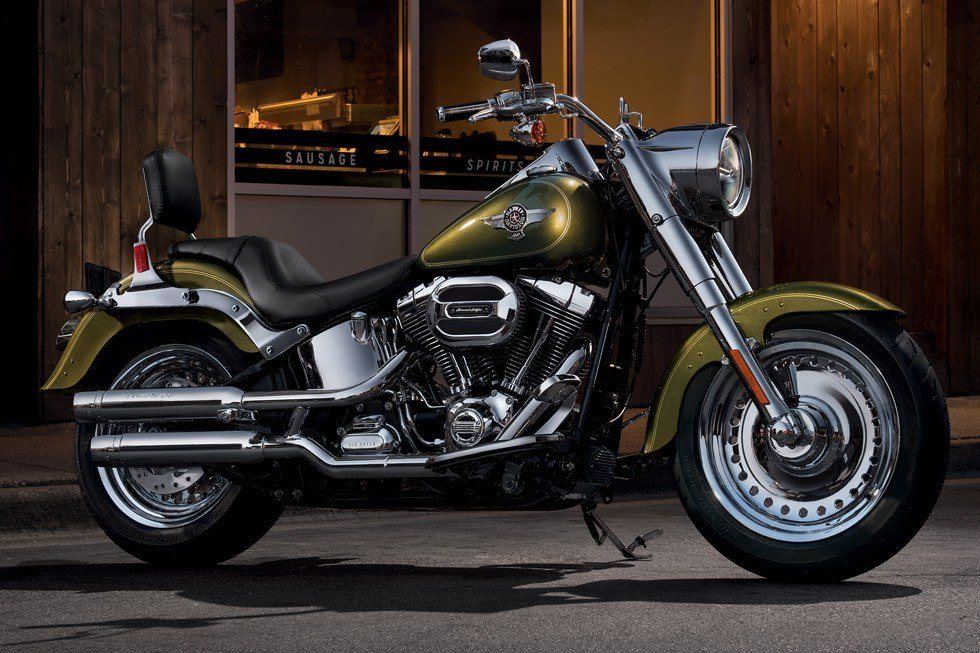 2017 Harley-Davidson Fat Boy® in Osceola, Iowa