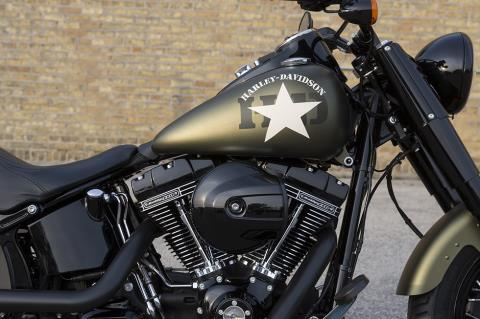 2017 Harley-Davidson Softail Slim® S in Green River, Wyoming