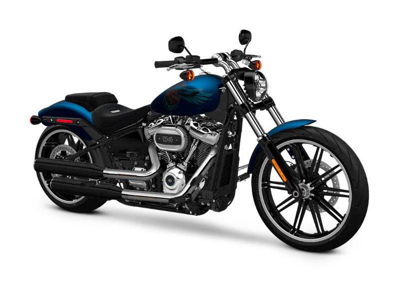 2018 Harley-Davidson 115th Anniversary Breakout®114 in Johnstown, Pennsylvania