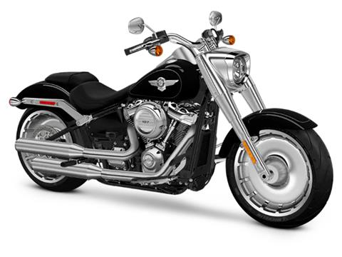 2018 Harley-Davidson Fat Boy®107 in Hermon, Maine