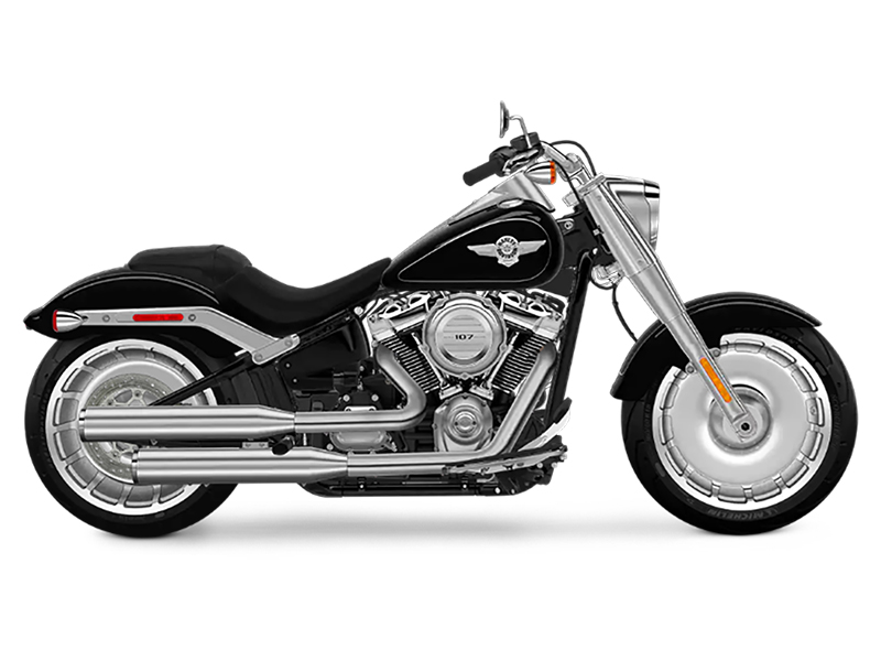 2018 Harley-Davidson Fat Boy®107 in Waterford, Michigan