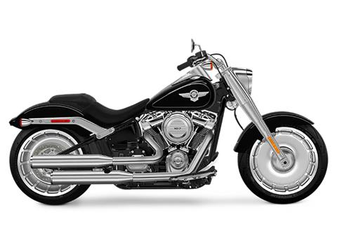 2018 Harley-Davidson Fat Boy®107 in Adams, Massachusetts