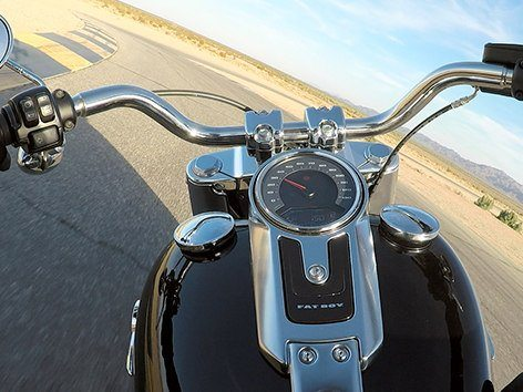 2018 Harley-Davidson Fat Boy®107 in New York Mills, New York