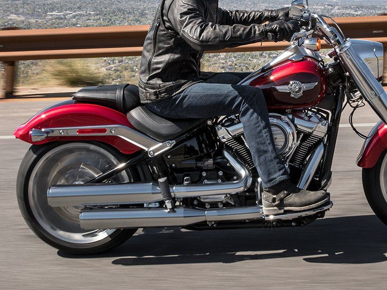 2018 Harley-Davidson Fat Boy®107 in Broadalbin, New York