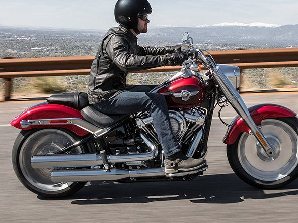2018 Harley-Davidson Fat Boy®107 in Lake Charles, Louisiana