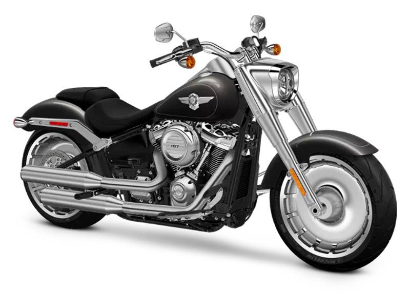 2018 Harley-Davidson Fat Boy®107 in Junction City, Kansas