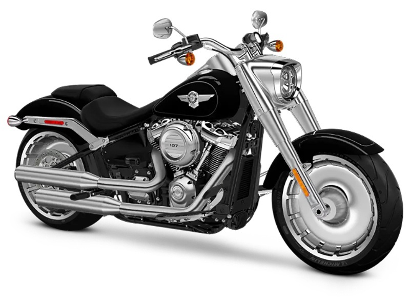 2018 Harley-Davidson Fat Boy®107 in Omaha, Nebraska