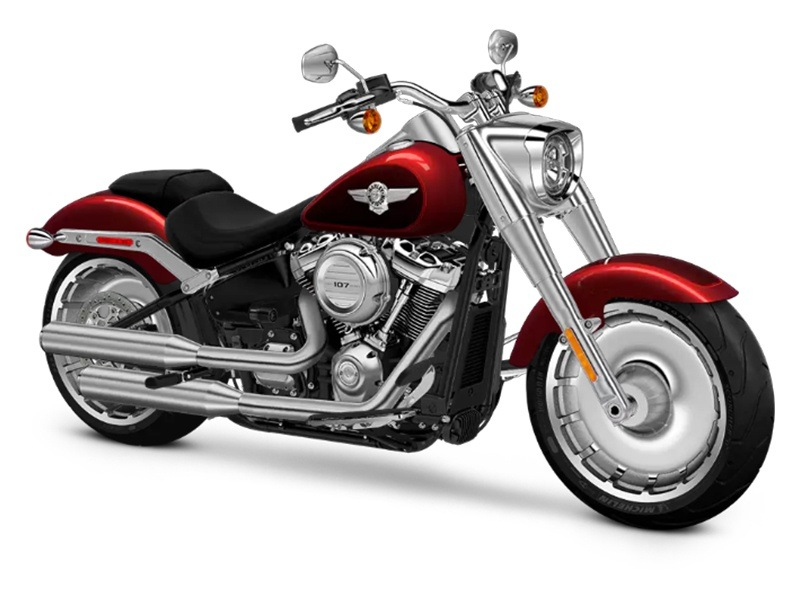 2018 Harley-Davidson Fat Boy®107 in Augusta, Maine